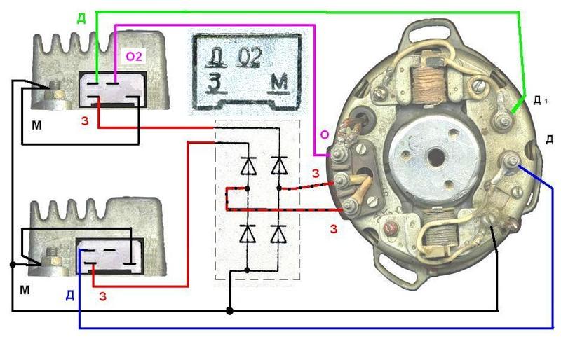 Схема подключения 2 бкс через