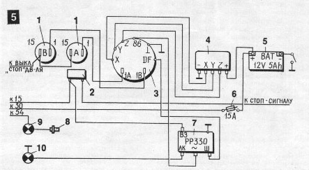 Схема ява зарядка 12в
